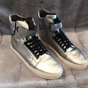 Other - Silver android Homme hightop